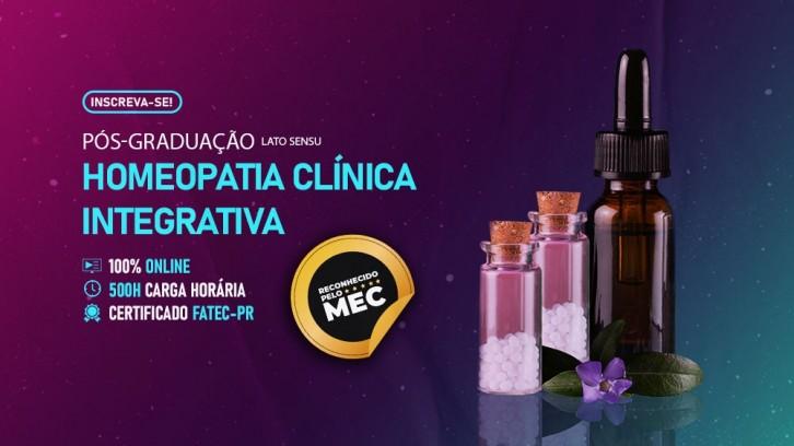 Curso de Pós-Graduação Lato Sensu em Homeopatia Clínica Integrativa Reconhecido pelo MEC - FATEC-PR