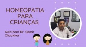Homeopatia para Crianças e Homeopatia para Fase Aguda